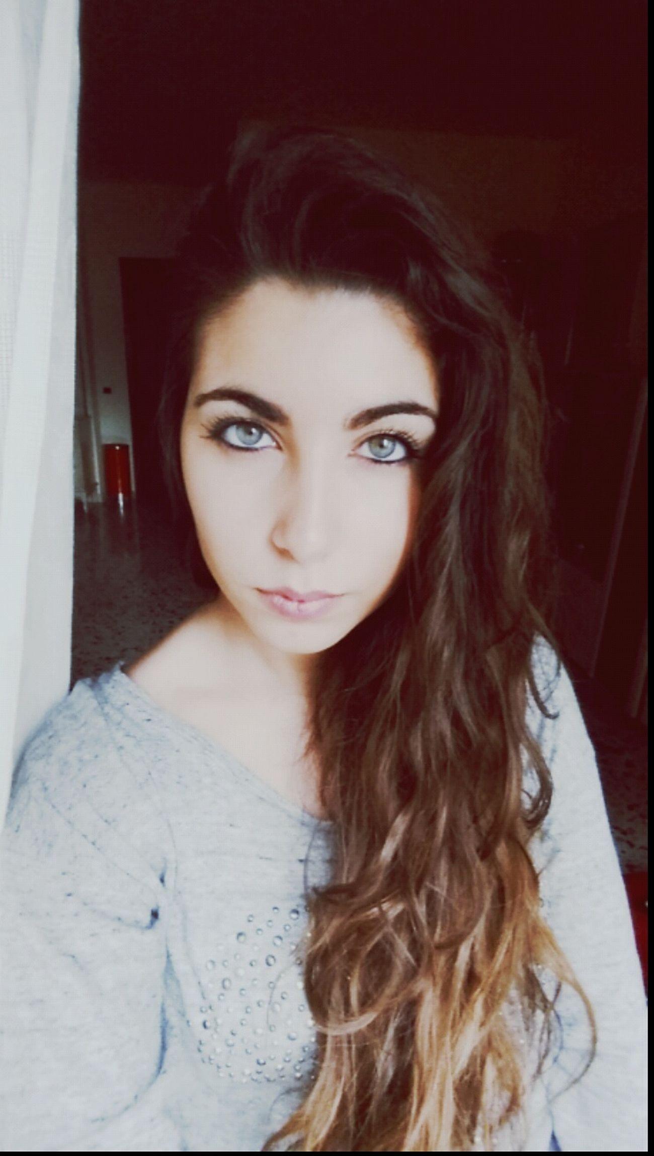 That's Me Brunette Green Eyes Serious Me Goodgirl
