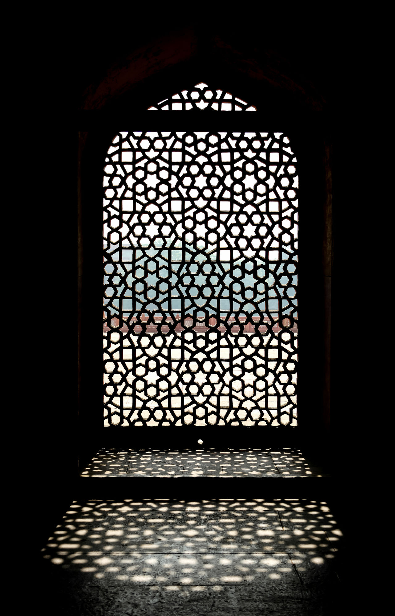 Window Indoors  Pattern Day No People Close-up Jali Humayun's Tomb Craft Craftmanship Stone Geometric Geometric Shapes India Design HumayunTomb Architecture Architectural