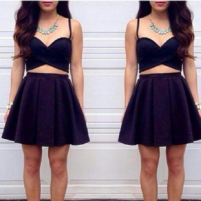 Who wants my criss cross dress? SIZES: S to L COLORS: BLACK, WHITE, POLKADOTS CAN BE CUSTOMIZED PM ME FOR INQUIRIES Black Dress Midriff Sexy hot love fashionista forsale fashion gorgeous instagram lookingforph new teens trendy