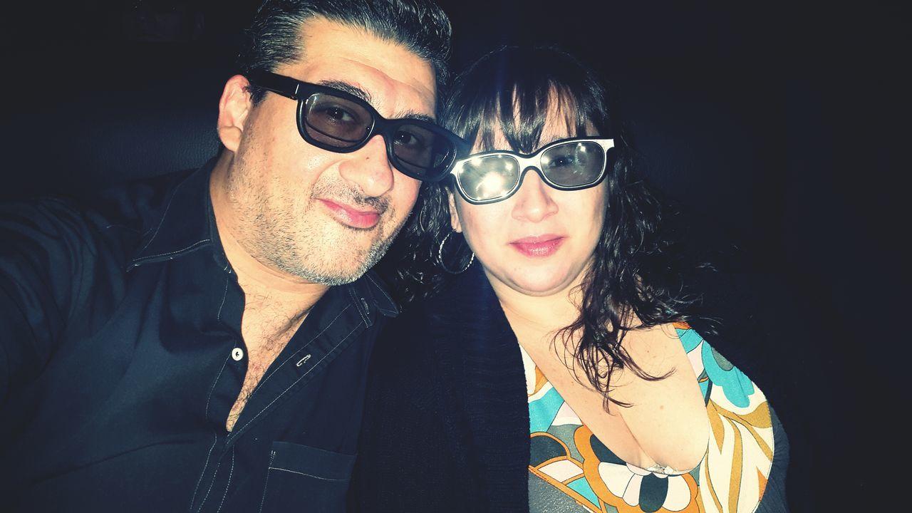 Two 3dmovie Cinema Movie Time 3D Cimema 3d Love Couple Coupleselfie Two People Cine 3d 3d Lenses Hoyts At The Movies At The Movie At The Cinema At The Movies ❤ Happiness Happiness ♡ Happy People