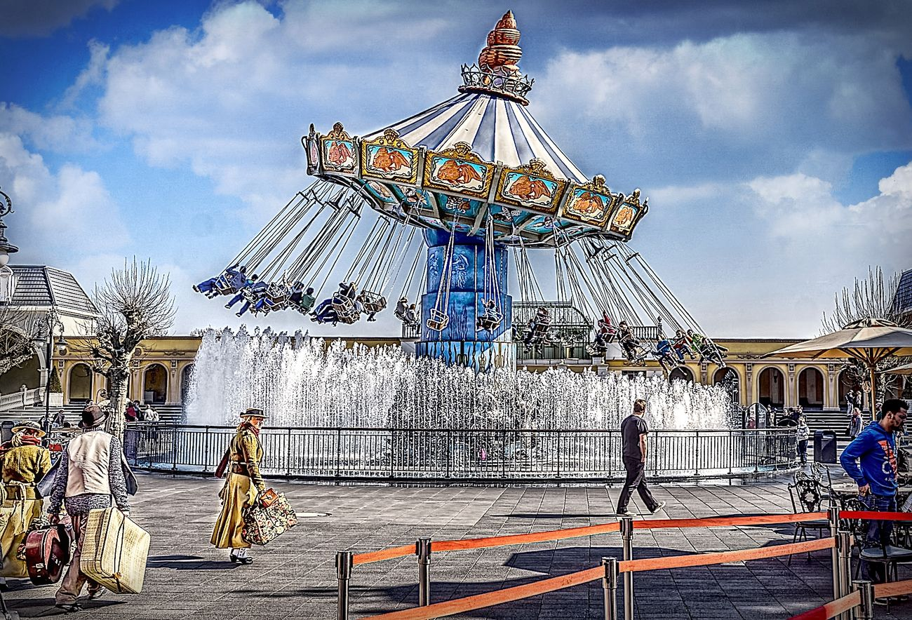 Amusementpark Arts Culture And Entertainment Hdrphotography Leisure Activity Nostalgie Outdoors P Phantasialand Streetphotography