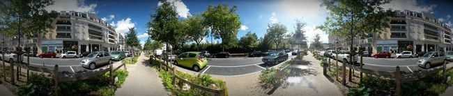 Panorama City Street Buildings Sunny Day Repeat Samsungphotography Samsung