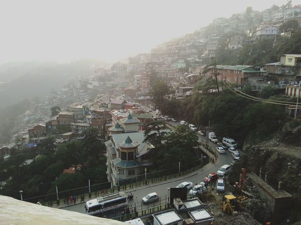 A view from a hill of Shimla.. Taking Photos Mountains Shimla, Nature Shimla Aerial Photography Nature Photography