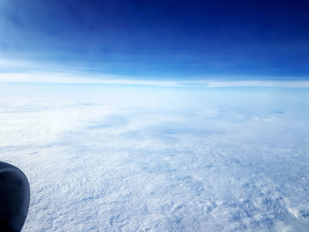 Flying High Blue Aerial View Sky Cloud - Sky Scenics Nature Beauty In Nature Tranquil Scene Tranquility Landscape Day No People Outdoors Plane View Skyblue Sky And Clouds Himmelblau Himmel Und Wolken Himmel Nature Dramatic Sky Non-urban Scene Plane Window Planeview