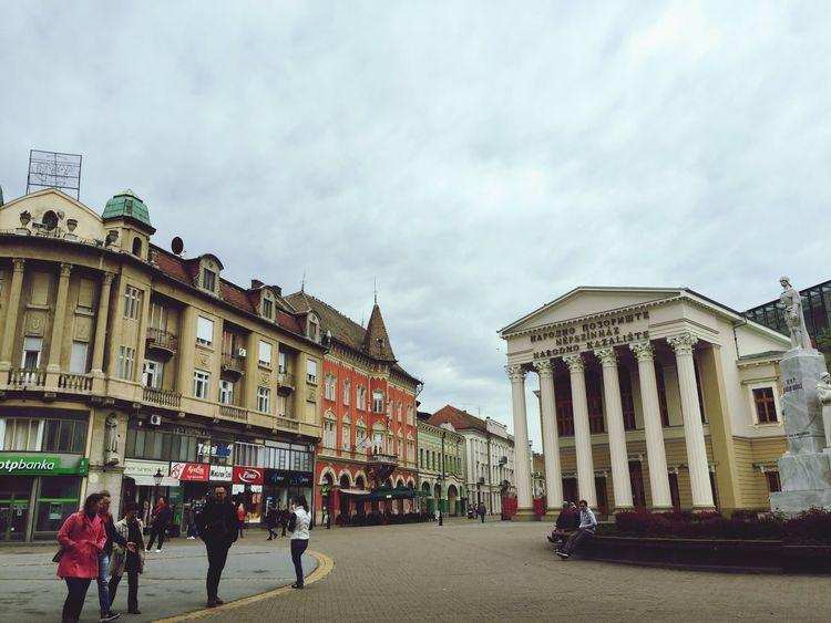 Serbia Subotica Vojvodina City Center