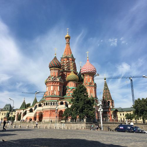 St. Basil's cathedral Architecture Religion Cathedral Church Destinations No People Red Square Moscow Exterior St Basil's Cathedral Spirituality
