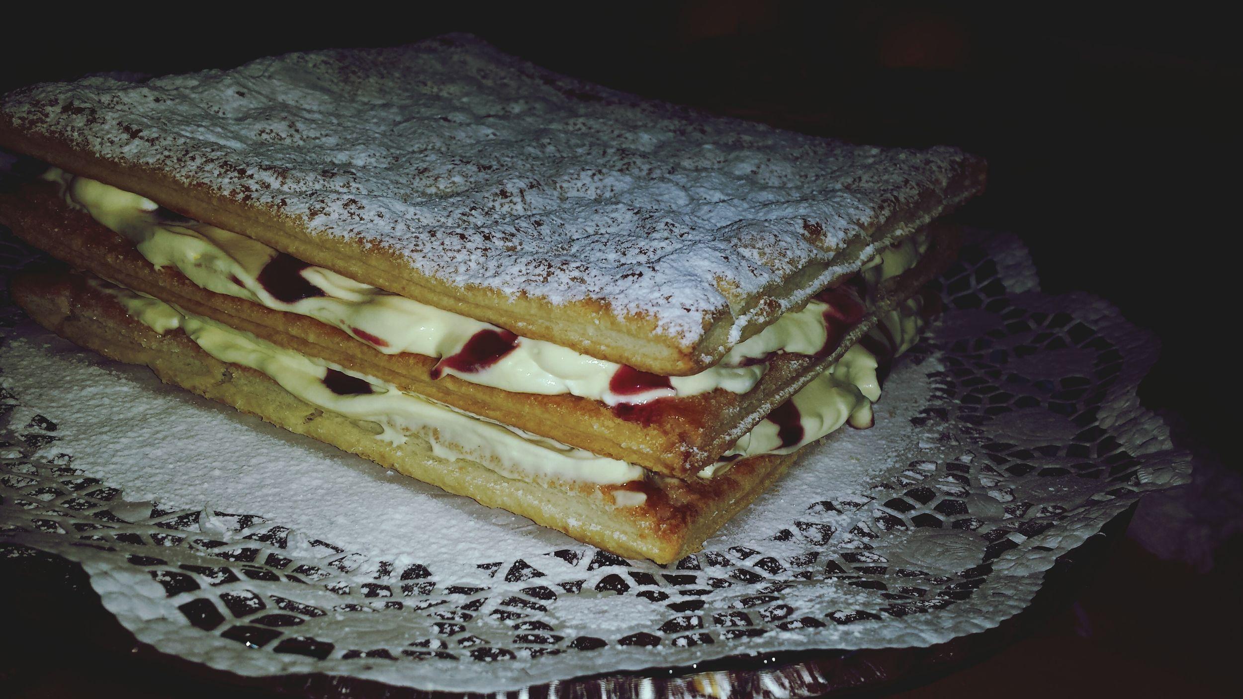 Cake millefoglie Torta Tortamillefoglie Pomeriggicostruttivi Pomeriggiocreativo Cake Cake Cake Cake  Cakelovers Cake Time Pasticciando Tortamodeon