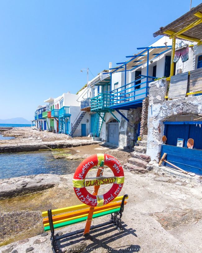 Greece Beach Sea Summer Blue Vacations Multi Colored Milos Travelling Summertime Milos Greek Island Travel Destinations Grece Greek Travel Milos Island Greecesummer Milos, Greece Nature Colors Greece Photos Vacations Relaxation