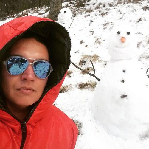 Ernuel & Frozer Nieve Volcán 2014 Nevadodetoluca Coleccionandomomentos