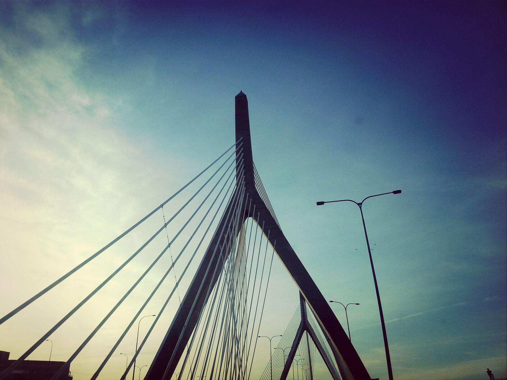 Sunsets and Bridges ♡ Boston Bridge Sunset Phonograhy