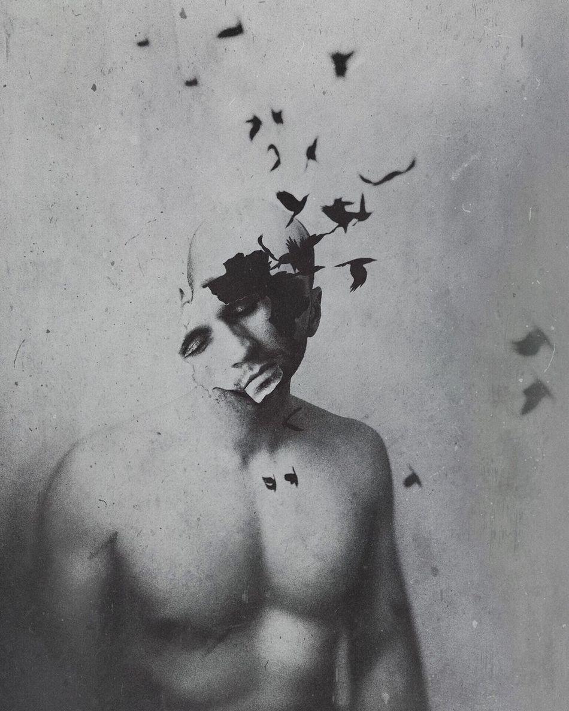 The soul birds. Shootermag NEM Self NEM GoodKarma Surrealism