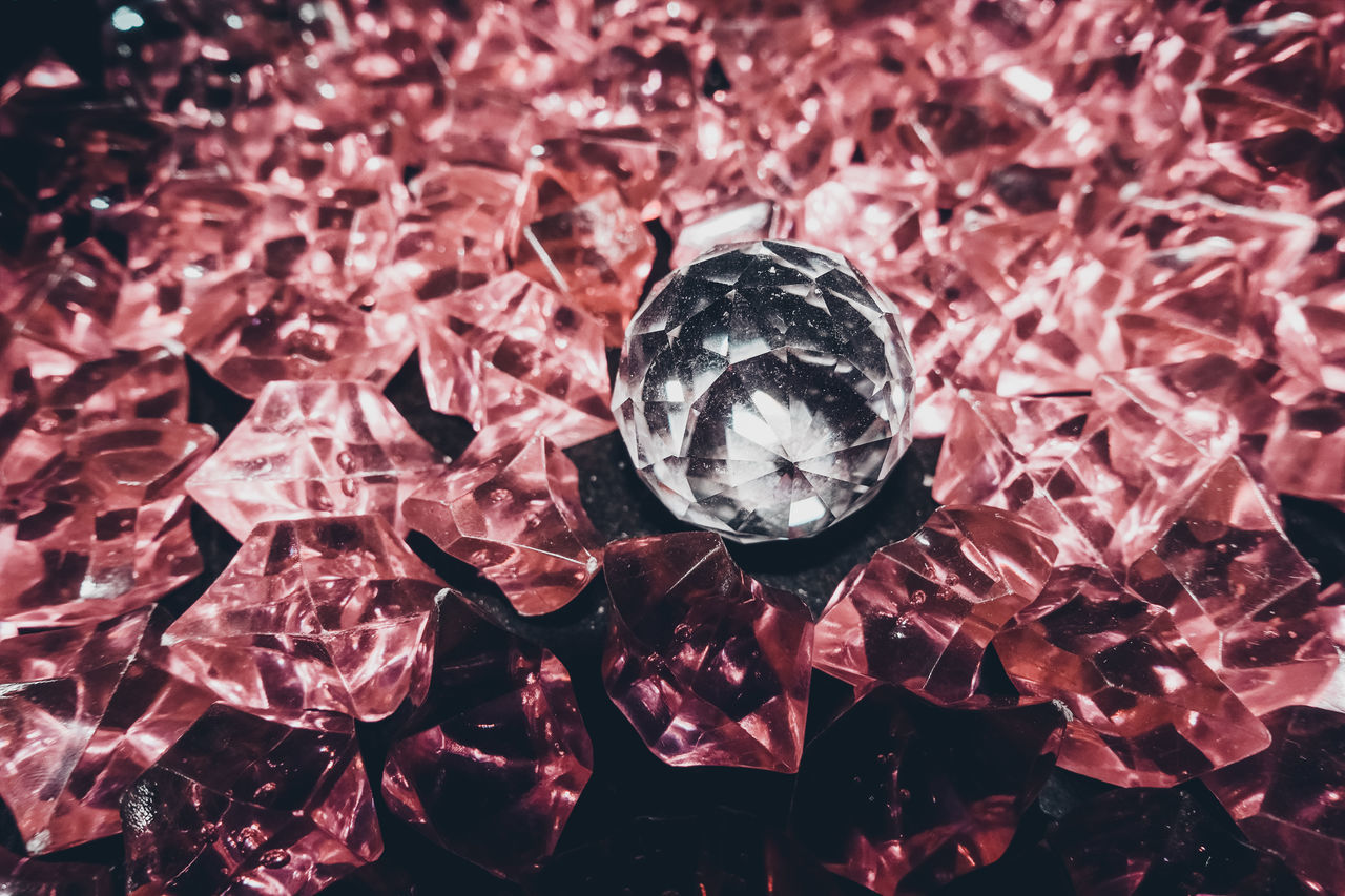 Check This Out Crystal Ball Exceptional Photographs EyeEm Best Shots EyeEm Selects Close-up Day Decoration First Eyeem Photo Flower Fragility Indoors  Neon Life No People Popular Photos Red