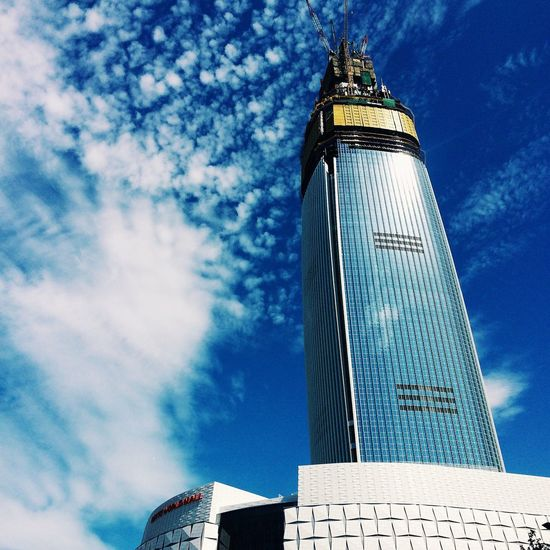 Under Construction... Lotteworld Tower Seoul Korea