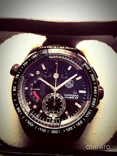 Time No People Close-up Clock Face Day Indoors  Studio Shot Watch Minute Hand Clock Wristwatch Young Adult Indoor Photography Front View Be Impressed Working Awesome Watch Taghuer Carrera Calibre36 Gift Gift For Dad Love ♥ My Dad Is Cool