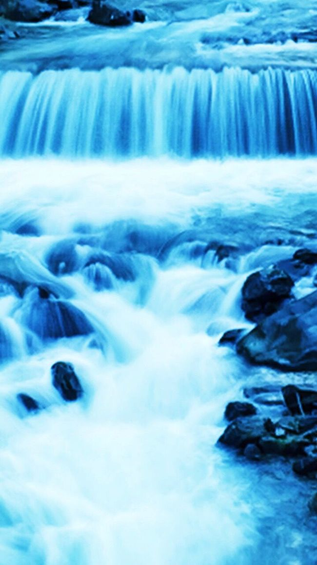 Water Water_collection Stream Italy Tyrol Slow Shutter Slowshutter Blue