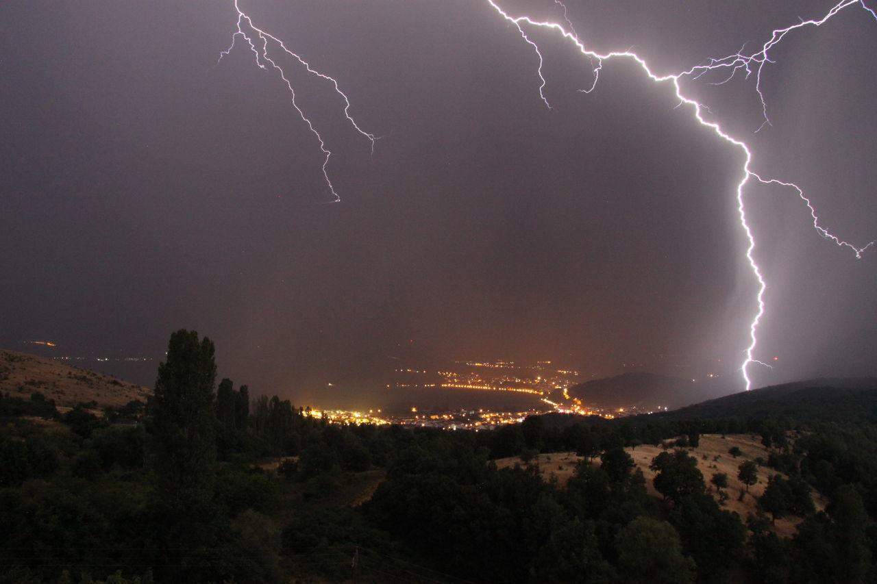 Greece Landscape Lightning Darkness And Light Lightning Bolt Lightning Strikes