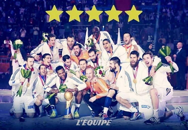 Handball Champion Du Monde 5 Etoiles 🌟🌟🌟🌟🌟