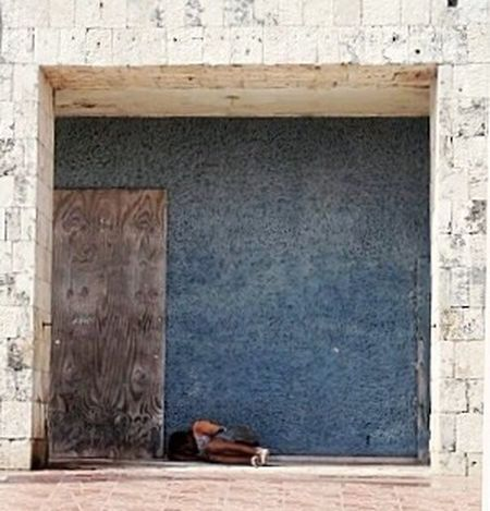 Thestreetphotographer2016eyeemawards Square Streetlife Sleeping Rough Local Mexico Person Alone Shape Box Frame