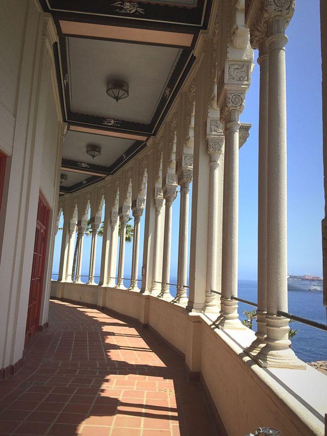 California Walking Around Taking Photos CatalinaIsland Casino Balcony Tour Vacation