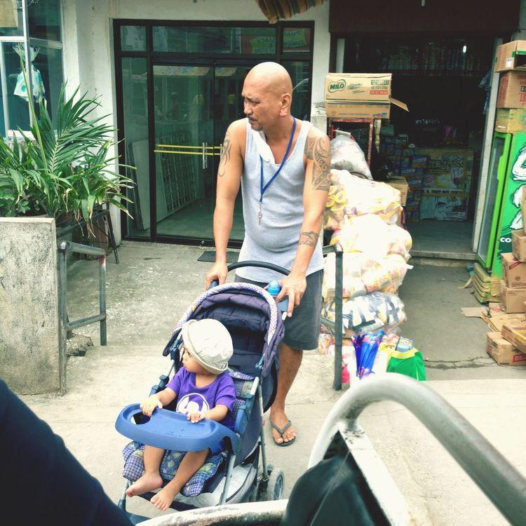 Papa with his child Philippines Boracay Philippines BoracayIsland Whitebeach