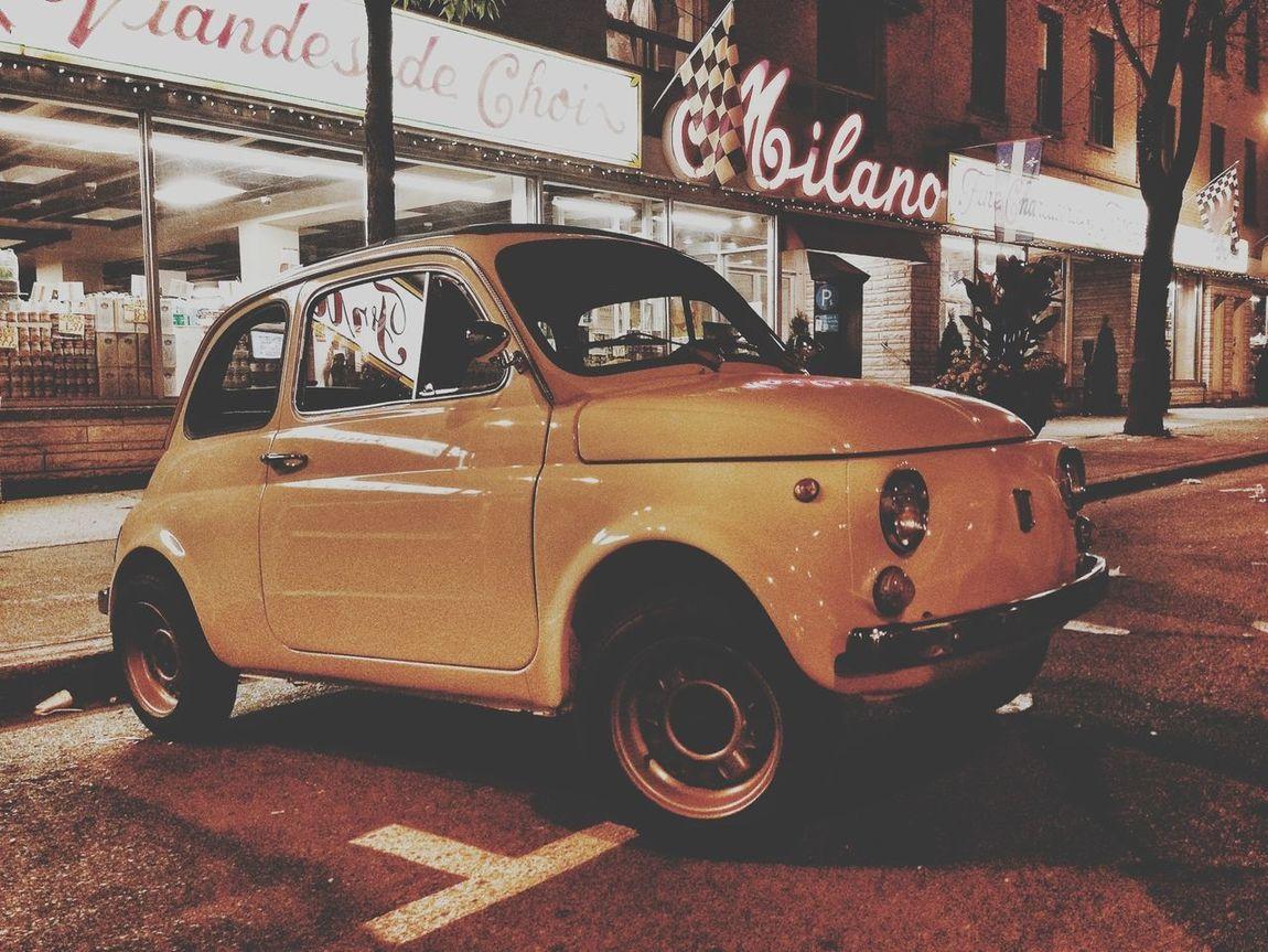 Cinquecento Automobile Milano Montreal Series