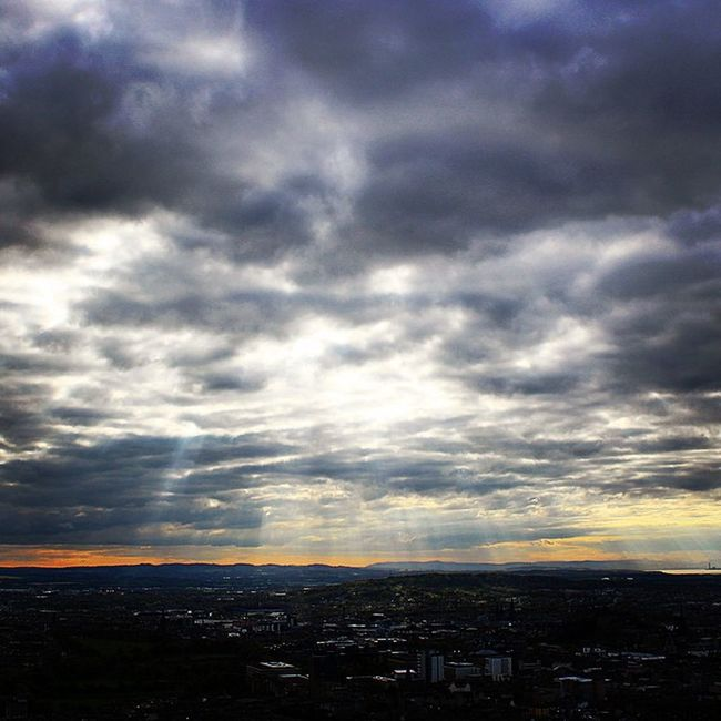 Clouds Sun Sunset Light Beauty Travel Cloud Cloudy Cloudporn Scotland Edinburgh Rays Photooftheday Picoftheday Cloudscape Cloudlovers Cloudchaser Instagood Instalike Cloudstagram Crépuscule Crepuscularrays IgersScotland Crepúsculos WHPstrangelight Ig_scot Edinphoto Crepuscularray Crepuscular_rays Hidden_igers_weekend5
