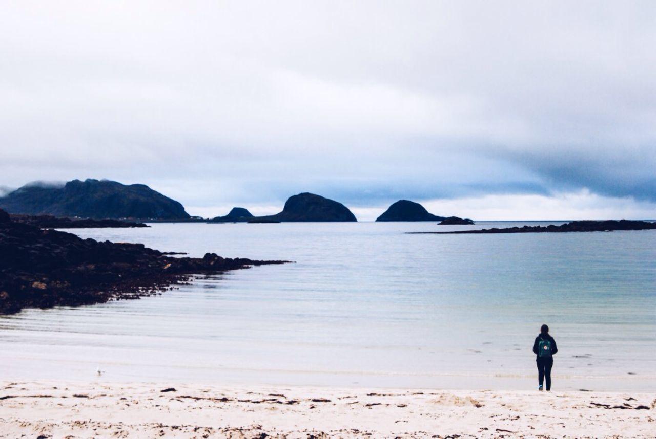 Beautiful stock photos of norway, Beach, Cloud - Sky, Day, Leisure Activity