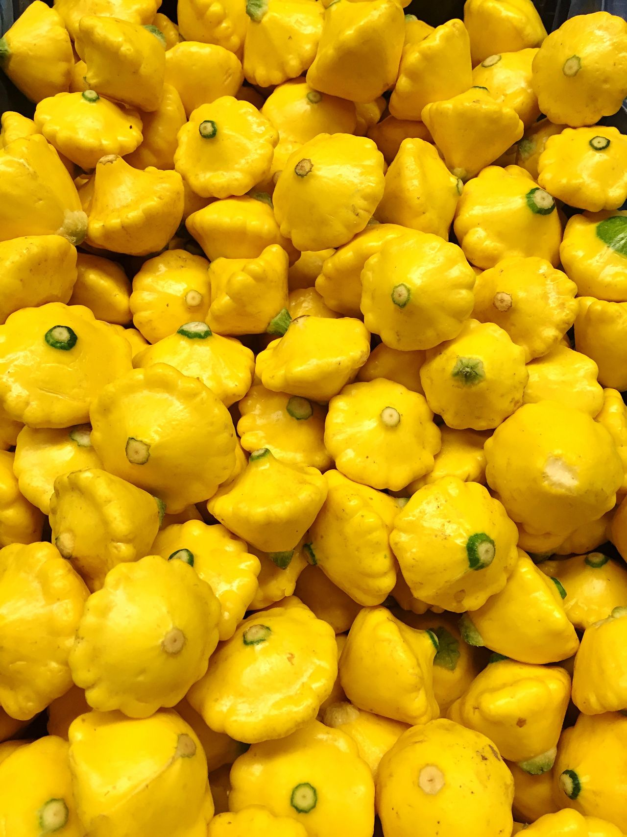 Pattypan Yellow Freshness Healthy Eating Food Market Vegetables Cooking At Home Whatsfordinner Ingredient Abundance No People Yummy