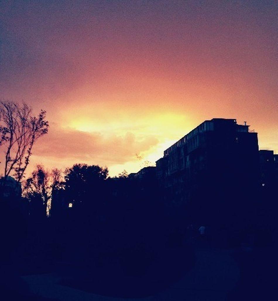 秋天了吗?今晚的落日… First Eyeem Photo