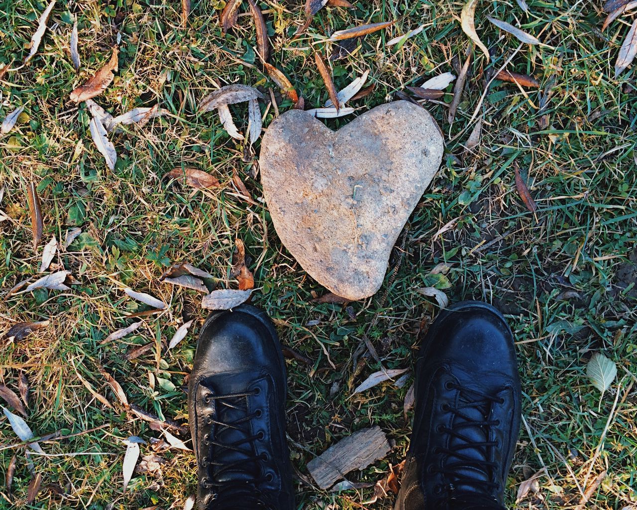 Heart of stone... Heart Shape Shoe Low Section Human Leg Human Body Part Beauty In Nature Grass Nature Hiking Hiking Boots Fresh On Eyeem  Found On The Roll My Favorite Photo Details Of My Life Leisure Activity Vscocam Travel View From Above Hike Stone Rock Heartshape Heart Made In Romania Feetselfie