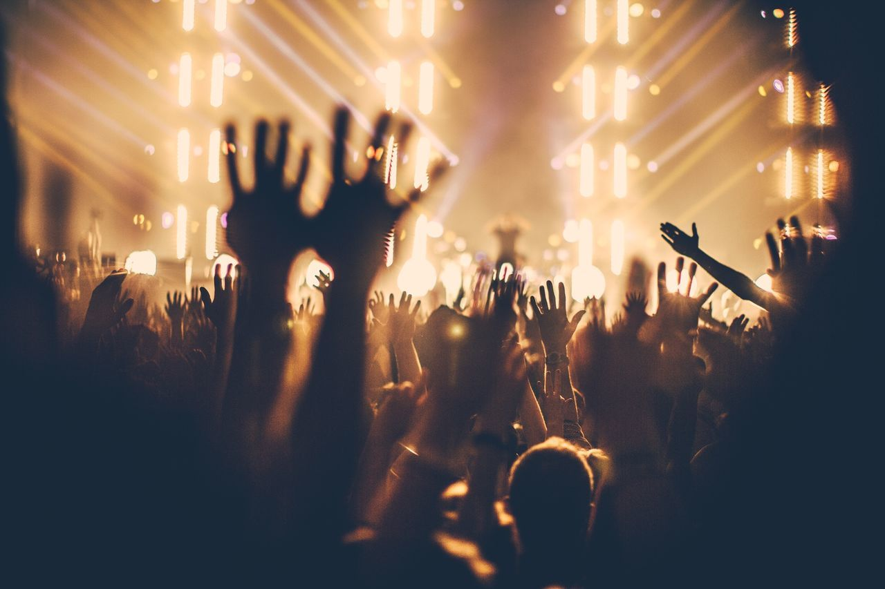 Beautiful stock photos of party, Arts Culture And Entertainment, Audience, Concert, Crowd