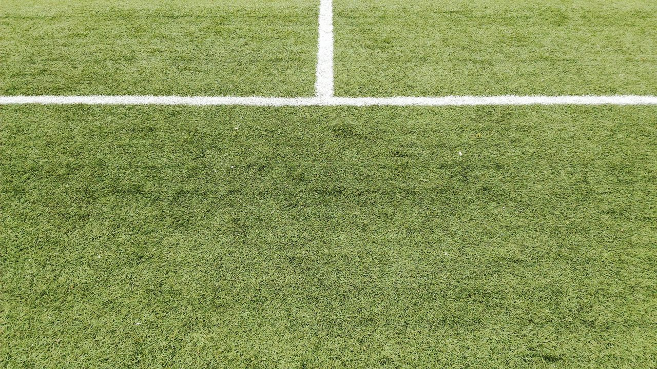 Grass Textured  Green Color Backgrounds High Angle View Sport Textured Effect No People Soccer Field Full Frame Playing Field Close-up Outdoors Day Turf Grass Green Color Soccer Stadium