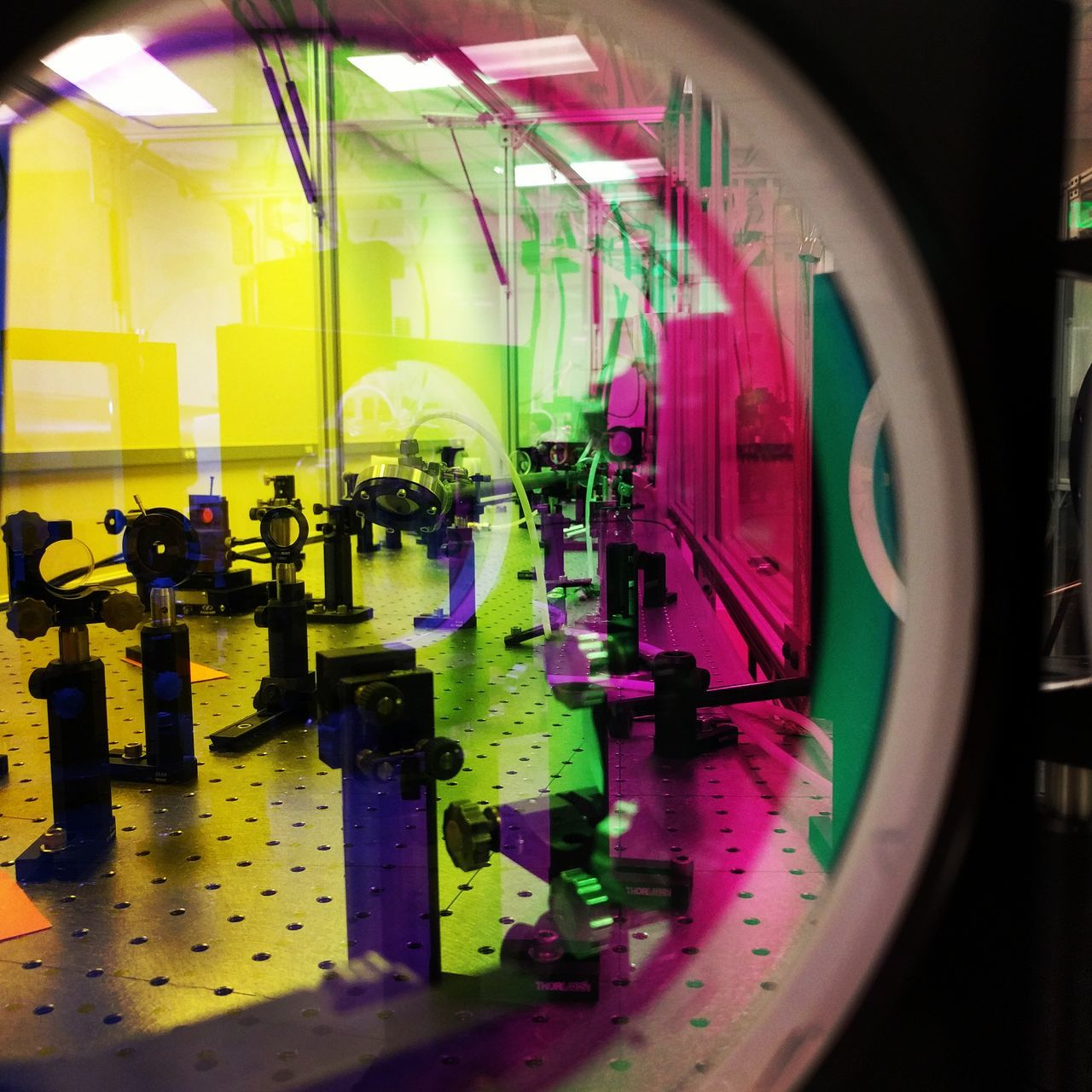 Laserbeam University Campus Laser Lab Laser Scientist Technology University Lab Optic Mirror