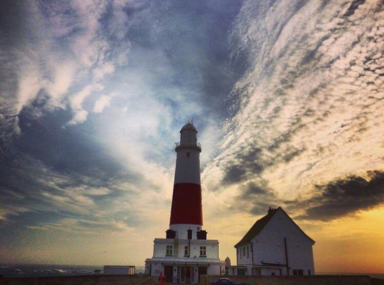 Take me to the seaside Seaside Portland, Dorset Portland Bill Portland Bill Lighthouse English Coast English Coastal Town English Coastline Sunset Sunset_collection Sunset And Clouds  Lighthouse