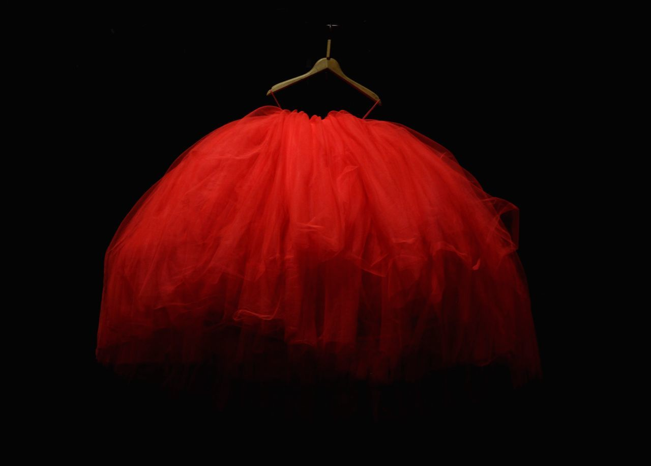 Black Background Red No People Red Dress Hanger EyeEmNewHere