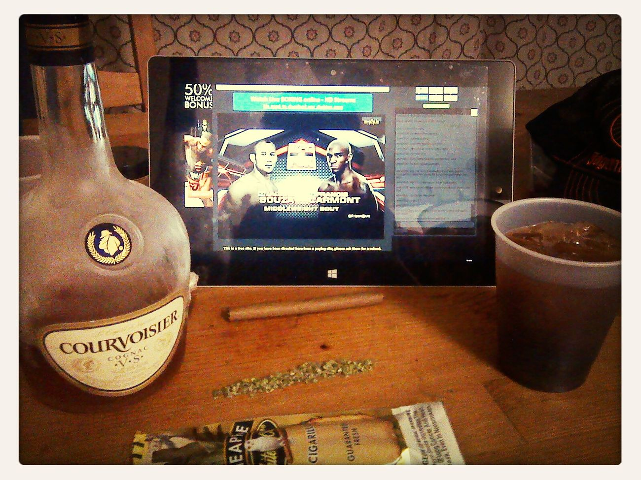 My Flow  Good Kush And Alcohol Saturday Night UFC