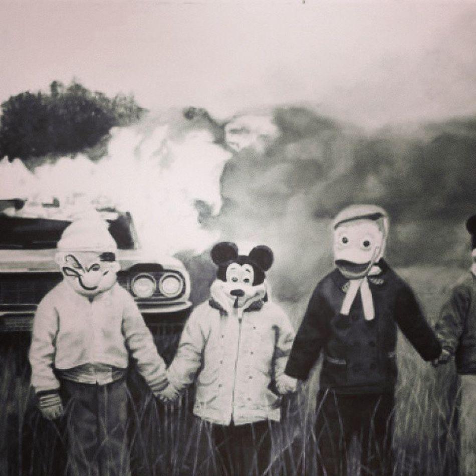 BURNBABYBURN Creepy Halloween Shocktober