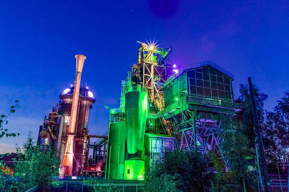 Illuminated Night No People Cultures Steel Factory Longexposure Lights Architecture EyeEmNewHere