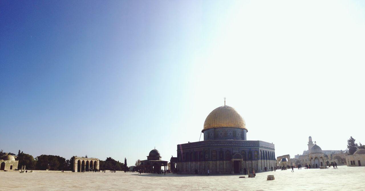 Israel Jerusalem Mosquee Muslim