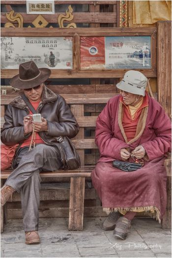 Senior Adult Traditional Clothing People Outdoors Travelphotography Tibet Nikonphotography Lonelyplanet Cultures Nikontop Vibrance Buddhist Pilgrimage Nikond750 Tibet Travel Religion NikonAsia Passionforphotography Hdr_Collection Nikon