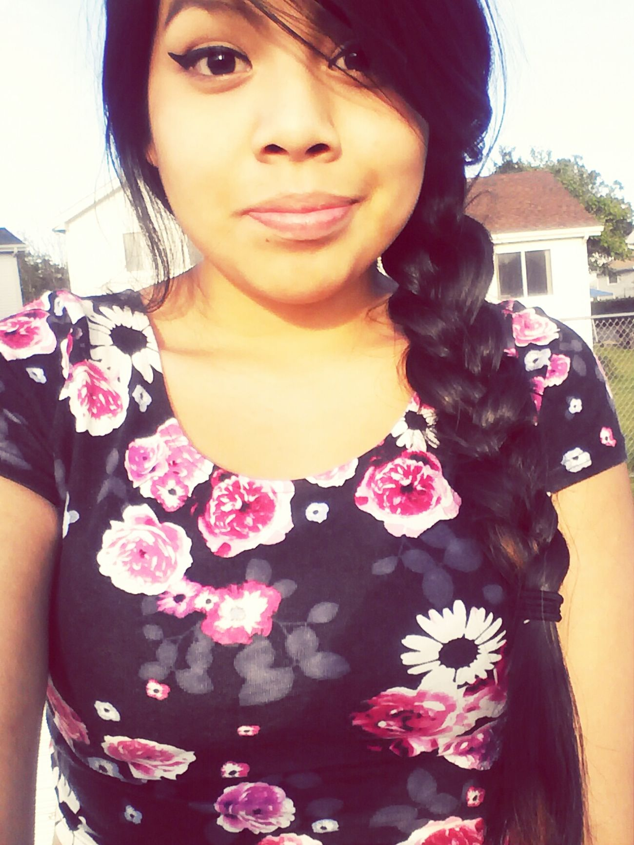 Selfie ♥ Sitting Outside LOL! Check This Out