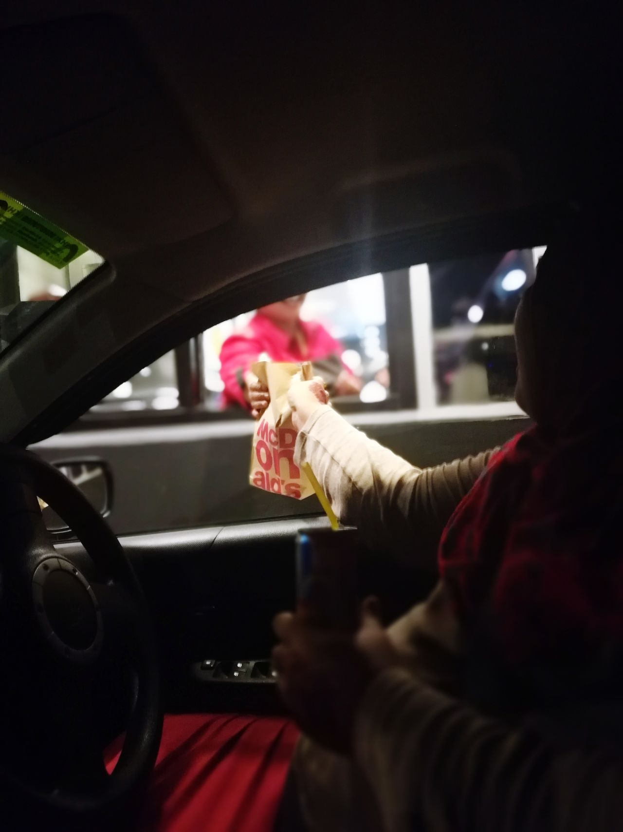 McDonald's DriveThru Service With A Smile EyeEmNewHere