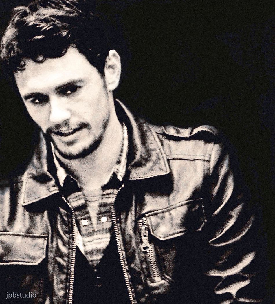 James Franco NYC Actor Movie Star Celebrity Portraiture Black Leather