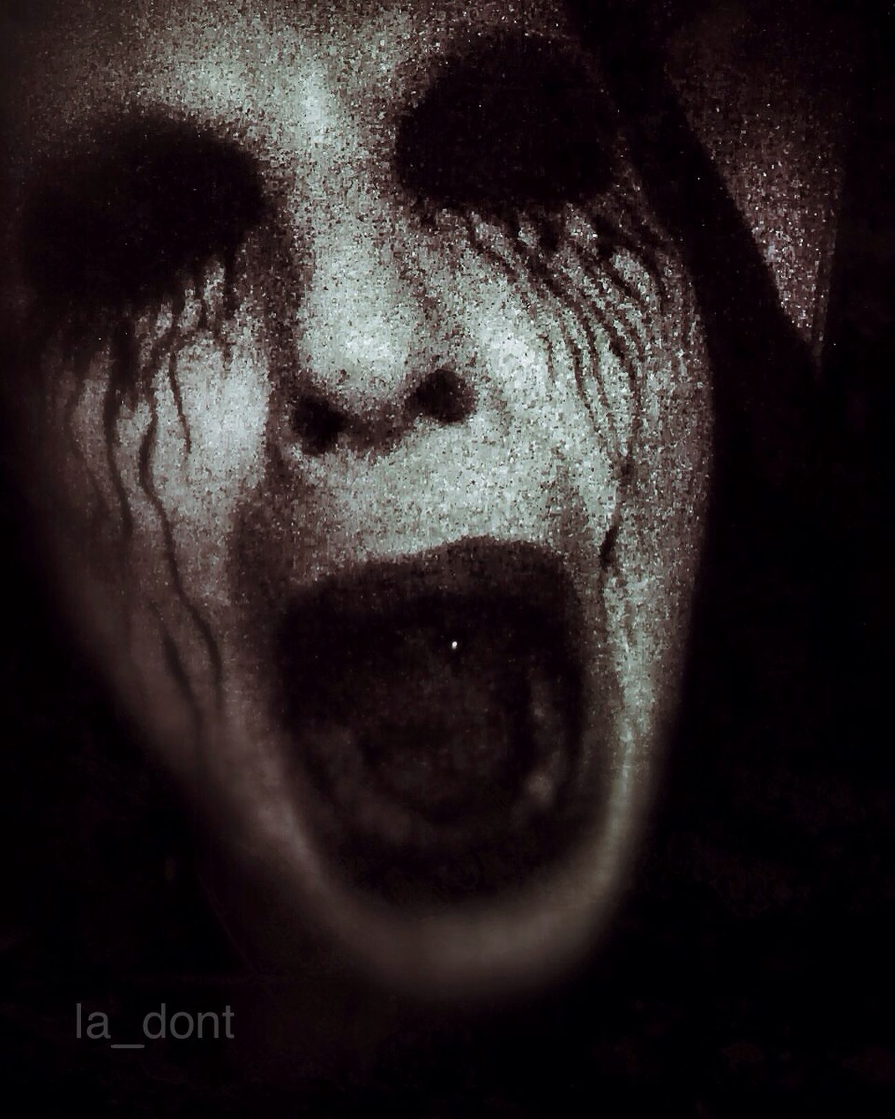 Hear the pandemonium Killing Joke Darkness Black & White Open Edit Blackandwhite Dark Edit NEM Self Look Into The Darkness  Dark Art Self Portrait Darkart Goth Dark Portrait Monochrome
