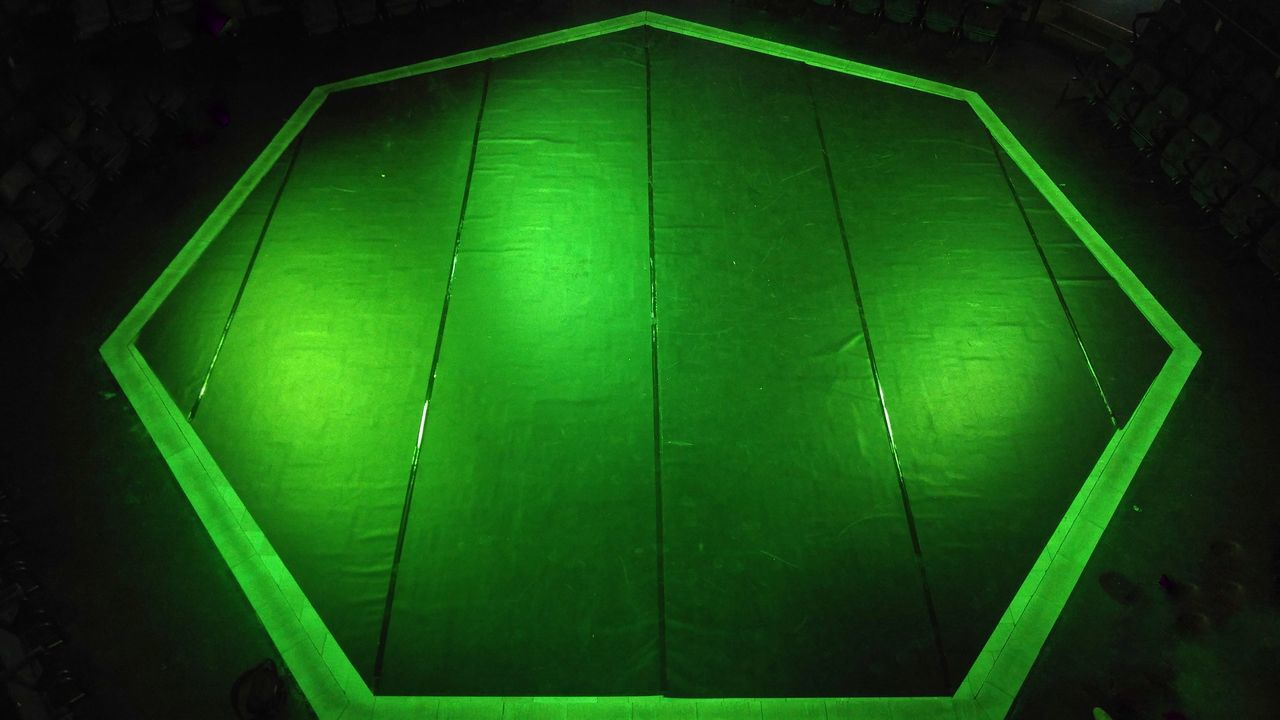 Green Color Backgrounds No People Close-up Technology Nature Outdoors Day Shapes Shapes And Forms The Stage Theatre