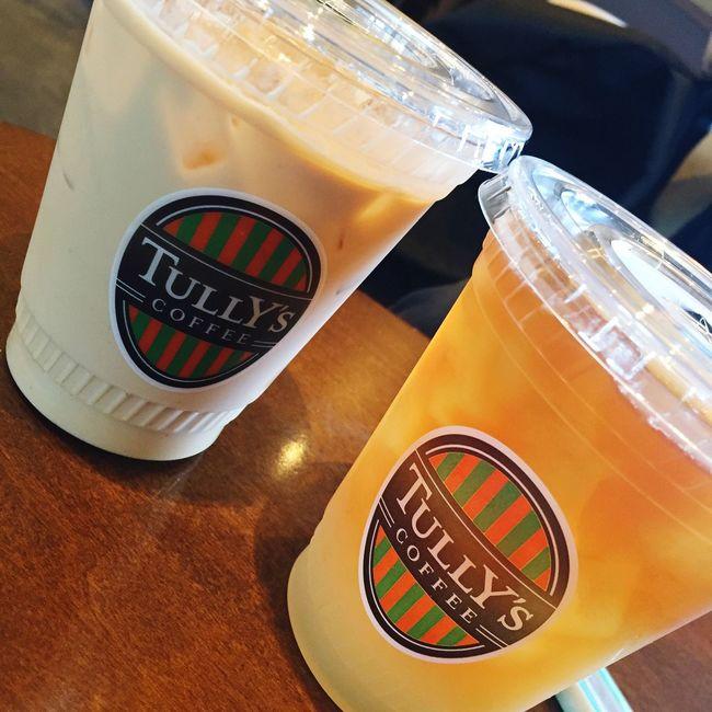 IPhone Tully's Tea Tea Time