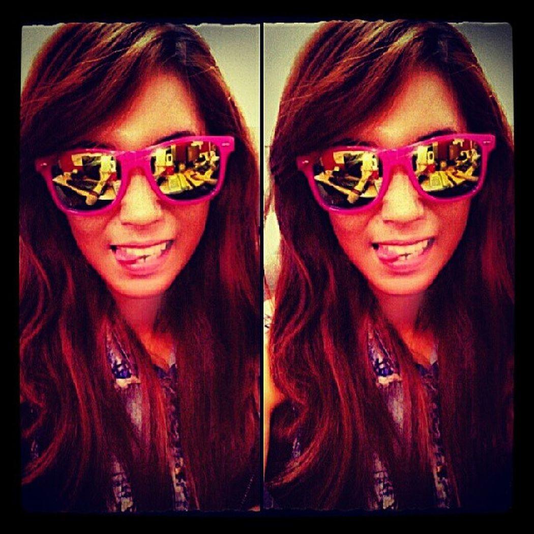 .sunnnnniiiieeess! Eyeglass Tumblrfashion Swag Metallic girlfashion summer rayban shades outfit wacky selfie livinthelife kawaii pink igpop iphoneasia rockchiq retro vintage igswag instalike tagsforlikes picoftheday bestgram