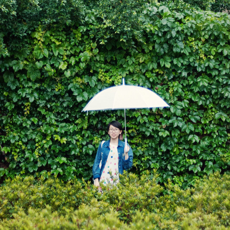 Beautiful stock photos of umbrella, Asian And Indian Ethnicities, Casual Clothing, Day, Front View