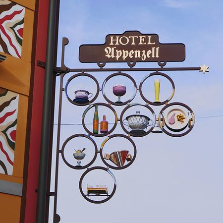 13/15 Appenzell-Winter-2015 ~~~~~ What's For Dinner? ..... Restaurant Hotel Signs Sign Appenzell By Jacklycat Appenzell Village JacklyCat Best Of Superretro