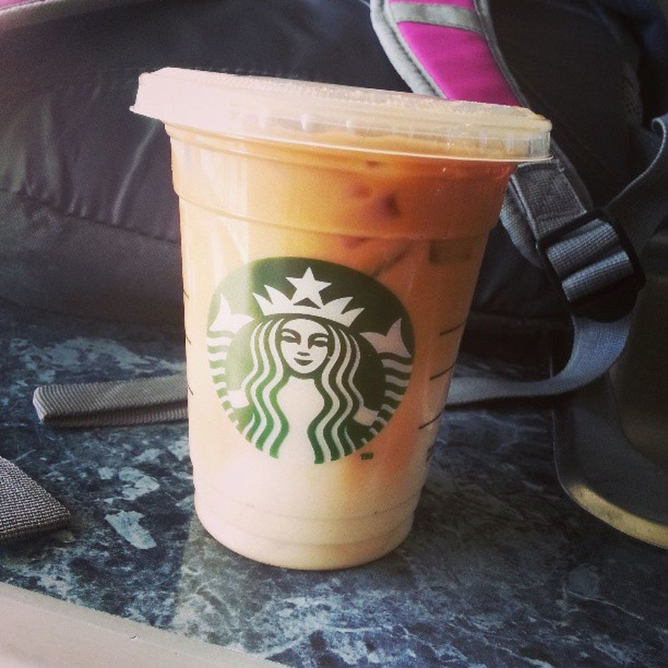 Perks of my job, free starbucks! Mobile rec parents are the best! Free Starbucks Mobilerec Bestjob mademyday